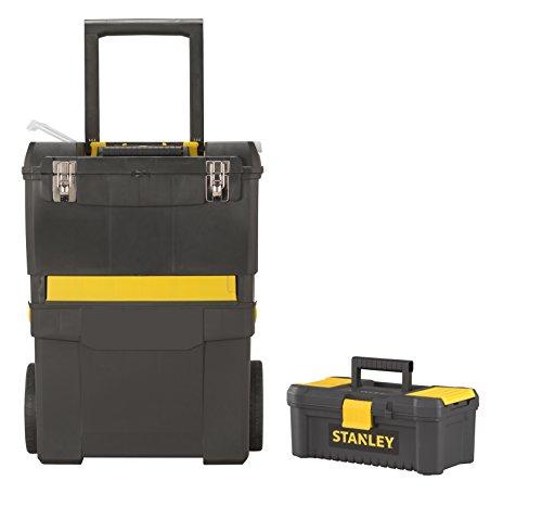 STANLEY STST1–75758 Servante chariot et boîte à outils