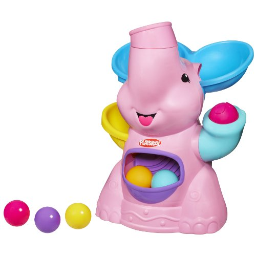 Pla Pop Pink Elephant Busy Ball Popper 37054