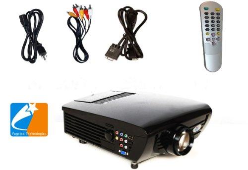 Digital Galaxy DG 747L LCD Movie Projector, 800x600 Pixels, HDMI Port, 1080i/p Compatible, Game TV Home Theater