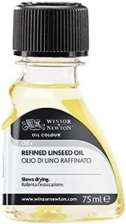 Winsor & Newton Refined Linseed Oil 2.5 oz Bottle