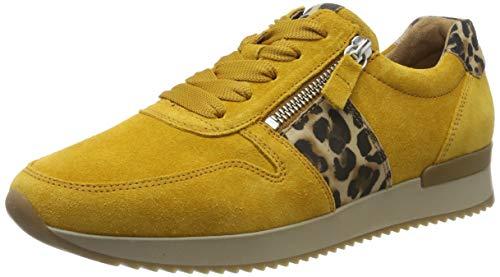 Gabor Damen Jollys Sneaker, Gelb (Herbst/Natur 10), 39 EU