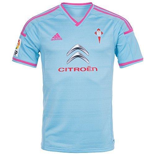 adidas Camiseta RC Celta de Vigo Home 2014 Celeste Talla M