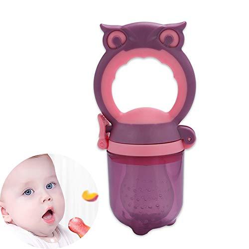 Baby voeding Fruit Feeder, Babyvoeding Feeder Vers Fruit Tandjes Toy Feeder siliconenspeen voor jongens en meisjes