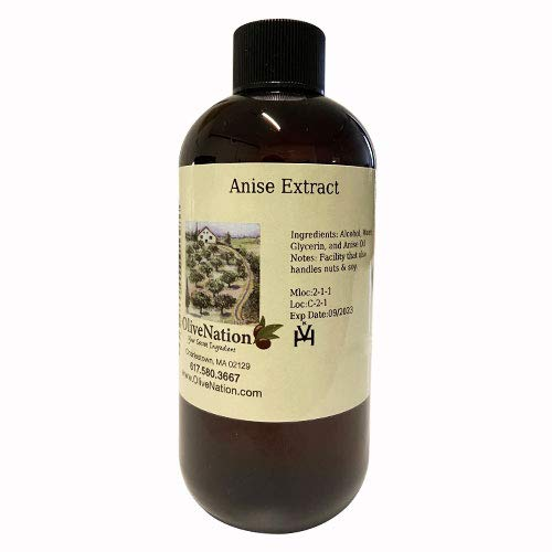 OliveNation Pure Anise Extract - 2 oz - Premium Quality Flavoring Extract For Baking