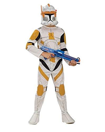 Rubie's Star Wars Clone Wars Clone Trooper Kinder Commander Cody Kostüm