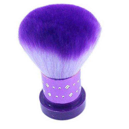 Nail Art Dust Brush, Nail Powder Cleaner Brushes Nails Polish Remover for Acrylic Nails Gel Supply Makeup Brush