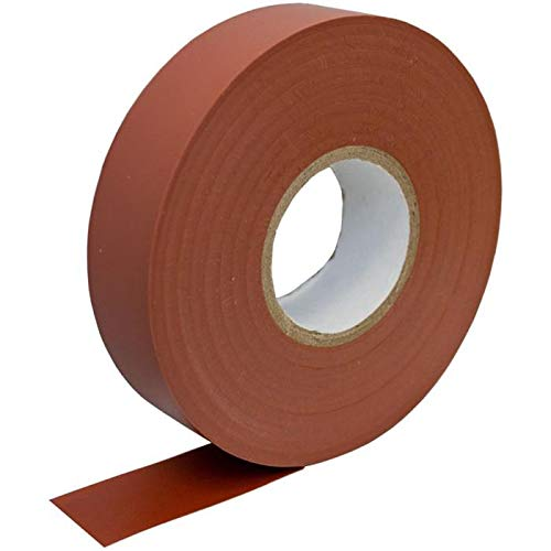 PVC Isolierband 19mm x 33m Klebeband Isoband für Elektriker Bastler braun