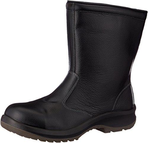 [ミドリ安全] 静電安全靴 JIS規格 半長靴 プレミアムコンフォート PRM240 静電 メンズ ブラック 27 cm 3E