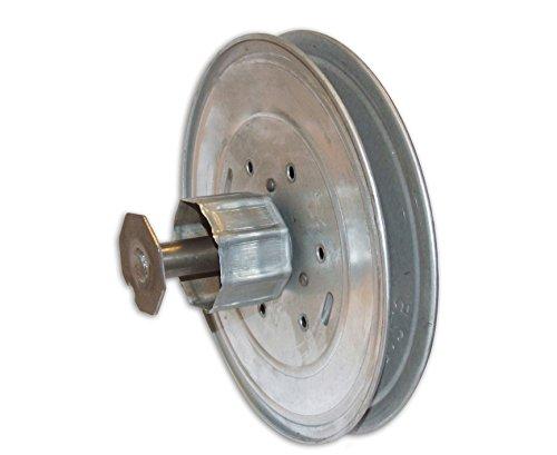 Home System Verstelbare riemschijf met verloopstuk, voor rolgordijnen van metaal, voor rolluiken