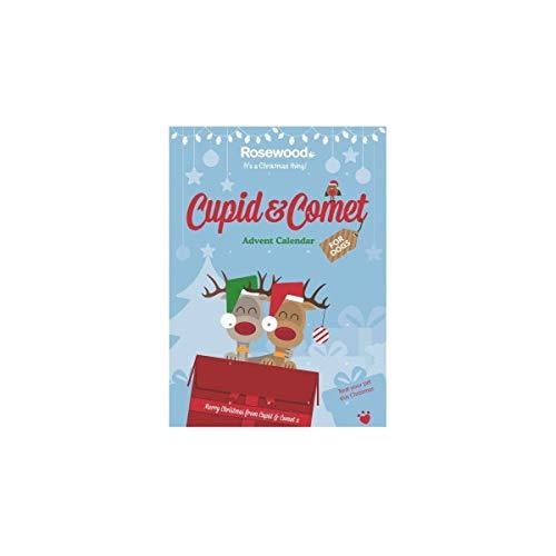 Calendario de Adviento para Perros con diseño de copa de palisandro y cometa de Navidad 70 g
