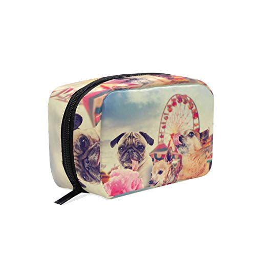 Cosmeticatas Animal Lovely dogs carnaval plezierpark cosmeticatas Clutch