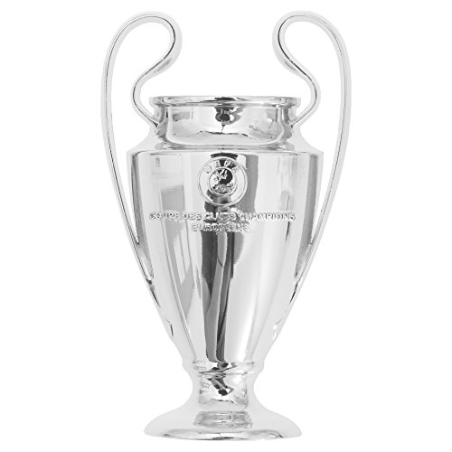 UEFA Champions League 2D Football/Soccer Trophy Magnet (One Size) (Silver)