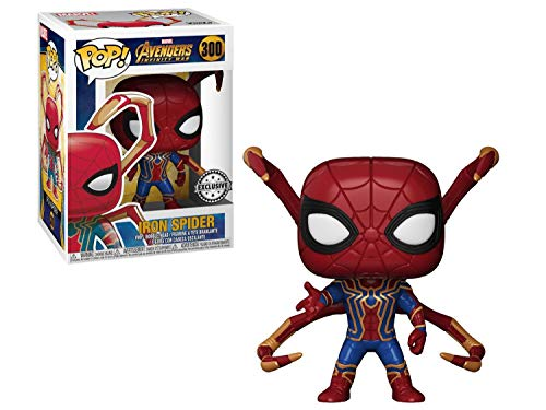 FunKo Peliculas Pop Avengers Infinity War Iron Spider with Legs Vinyl + Pop Protector