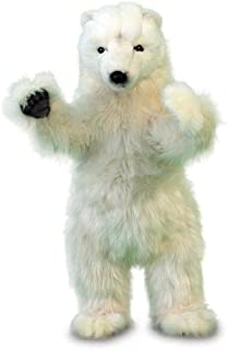 HANSA Standing On Two Feet Polar Bear 19'' -Affordable Gift for Your Little One! Item #DHAN-5257
