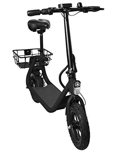 """E-Scooter """"Power Seat"""", 25 km/h, 350 Watt, 15 kg, 36V/8Ah Lithium-Akku, Straßenzulassung: Österreich, Schweiz, Elektro Roller, Elektroroller, E-Roller, 24 km Reichweite, City-Scooter, Produktvideo"""