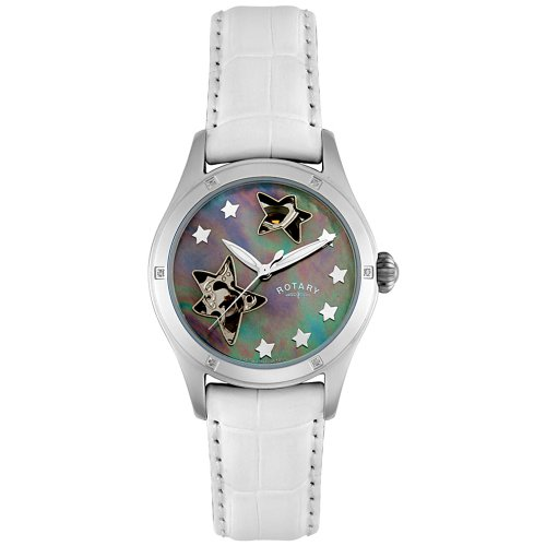 Rotary Damen RLS00027/38 Rocks Kollektion Automatic Diamond Watch