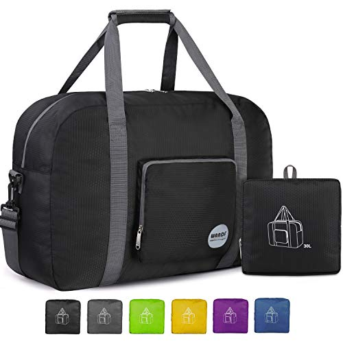 18' Foldable Duffle Bag 30L for Travel Gym Sports Lightweight Luggage...