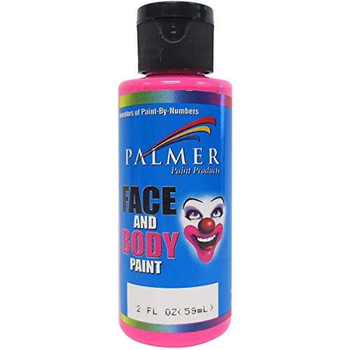 Palmer 56006-36 Face & Body Paint, 2 oz, Pink