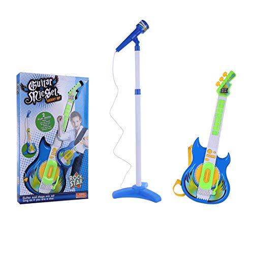 GST Instrumentos de Cuerda para niños Conjunto de micrófonos de Guitarra y...