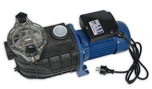 Productos QP 500568M Piscina, Monofásica, Bomba Centrífuga Autoaspirante, Prefiltro de Seguridad, 1 HP