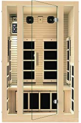 interior view of the best infrared sauna for 2 people