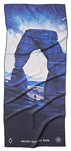 Nomadix Yoga, Camping, Beach & Travel Towel (Cayambe Market, Double Sided)