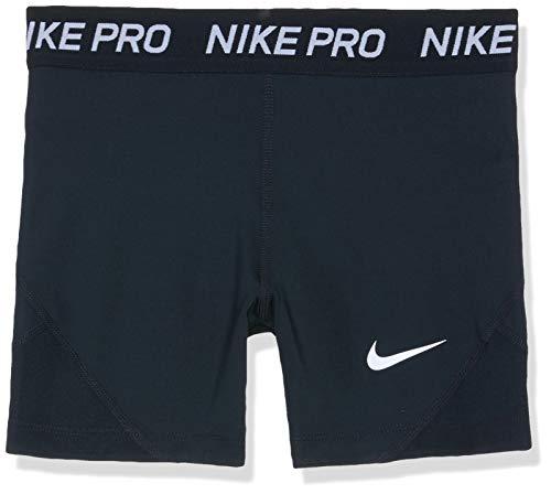Nike Mädchen Pro Shorts, Black/White, L