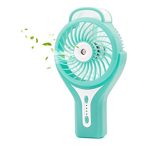 Ehomely Personal Misting Fan Handheld USB Rechargeable Battery Fan Portable Cooling Water Mist Heat Stroke Prevention