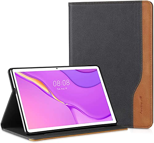 Acelive Funda para Huawei Matepad T10 T10s Tablet 2020 con on Trasera de TPU Suave Soporte Función