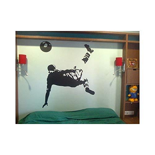 pegatinas de pared tortugas ninja Patada de bicicleta para habitación de niños.