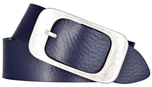 Bernd Götz Damengürtel Nappaledergürtel Marine 401973-0045 Jeansgürtel Leder Gürtel Ledergürtel 105 cm