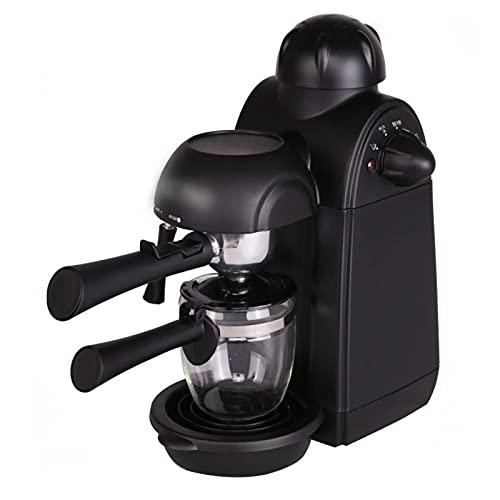 JZlamp 800W 220V 240ml Cafetera Espresso Italiana 5 Bar Presión Máquina de café Personal semiautomática con Espuma de Leche Cappuccino