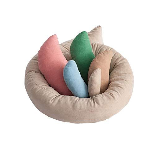 cineman Neugeborene Fotografie Prop, 6pcs Aufstellung Aid Pillow Korb Filler, Multicolor Foto Posing Hilfe Für 0-6 Monate Baby