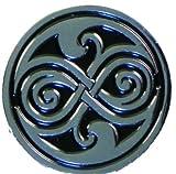 Pin de metal esmaltado Doctor Dr. Who sello de Rassilon (Rasillon)