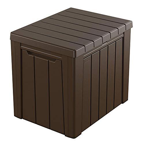 KETER ケター アーバンボックス 113L ブラウン/座れる アウトドア 収納ボックス