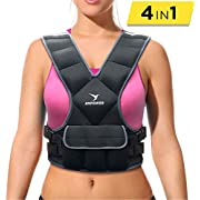 Empower Weighted Vest for Women, Weight Vest for Running, Workout, Cardio, Walking, 16lb Adjustable Weight