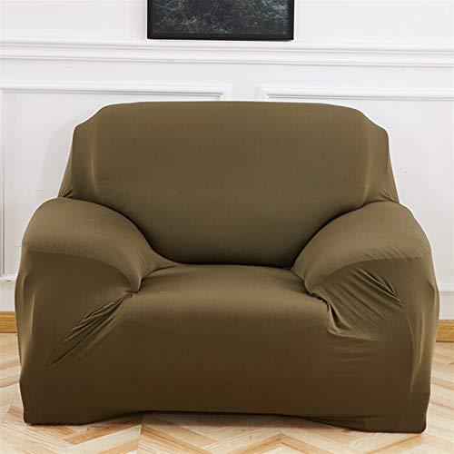 Einfach zu installierender und bequemer Sofa Sofa-Cover, elastisches Sofa-Cover-Baumwolle eng Wrap All-Inclusive-Sofa-Cover für Wohnzimmer Ecke Couch Cover Sessel Cover 1/2/3/4 Sitzer