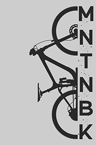 MNTNBK: Mountainbike MTB Planer Kalender Journal Organizer Terminplaner Terminkalender Wochenkalender  | Geschenk für Mountainbiker Radsportler ... | A5 Softcover 52 Wochen auf 120 Seiten