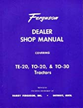 1948-1954 FERGUSON TRACTOR TE-20 TO-20 TO-30 Manual