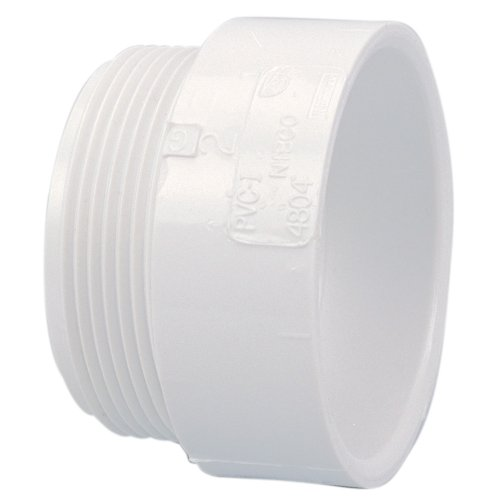C4804 4 HXMIPT MALE ADAPTER PVC