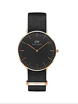 Daniel Wellington Classic Cornwall Watch Black NATO Band