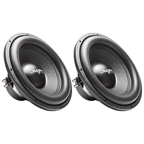"(2) Skar Audio Sdr-15 D2 15"" 1200W Max Power Dual 2 Ohm Car Subwoofers, Pair of 2, (2) SDR-15 D2"