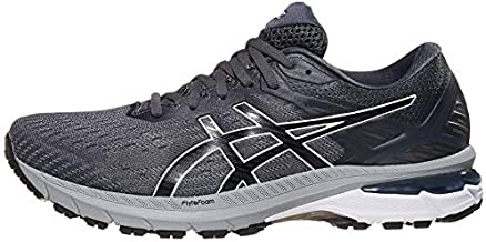 ASICS Men's GT-2000 9 Running Shoes, 10, Carrier Grey/Black