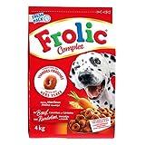 Croquettes chiens Frolic - Complet boeuf céréales 4kg
