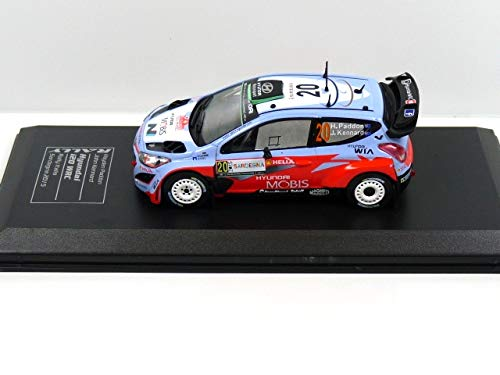 OPO 10 - Hyundai I20 WRC H.Paddon/J.Kennard Rally Italia/Sardegna 2015 (Ref: 1507)