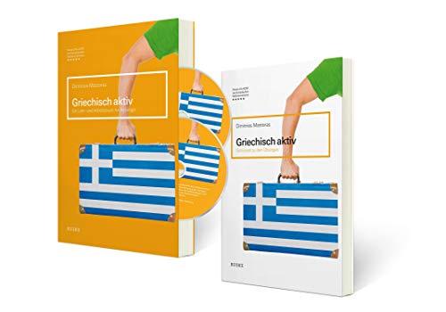 Griechisch aktiv – Set: Lehr- und Arbeitsbuch, Schlüssel zu den Übungen, zwei mp3-CDs und eine Lernkarte