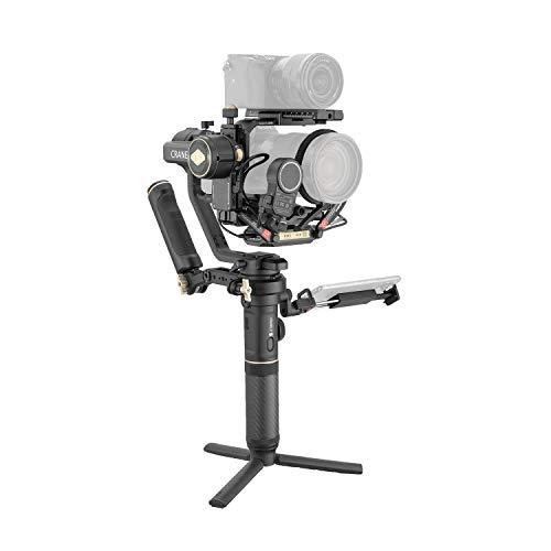 ZHIYUN Crane 2S Pacchetto Pro Stabilizzatore Gimbal 3 Assi per fotocamere DSLR, fotocamere mirrorless Canon, Sony, Nikon e Panasonic
