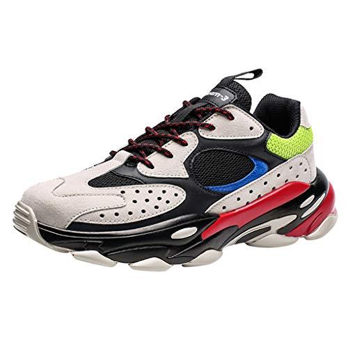 Klassieke veterschoen heren loopschoenen ademend outdoor hardlopen licht turnschoenen Low-Top sneakers vrijetijdsschoenen maat 39-44 EU By Vovotrade