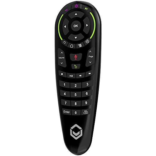 DroiX G30 Ratón de Aire de Seis Ejes con Comando de Voz inalámbrico y Aprendizaje de IR para Android TV Box, Nvidia Shield, DroiX X3, T8-SE