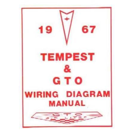 Amazon.com: 1967 PONTIAC GTO TEMPEST Wiring Diagrams Schematics: Everything  ElseAmazon.com